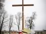 Wizyta biskupa i poświęcenie krzyża 8.12.2017